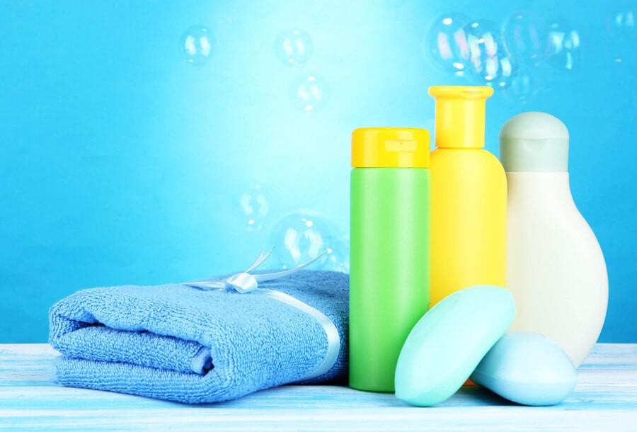 Шампуни, лосьоны, мыло для малышей