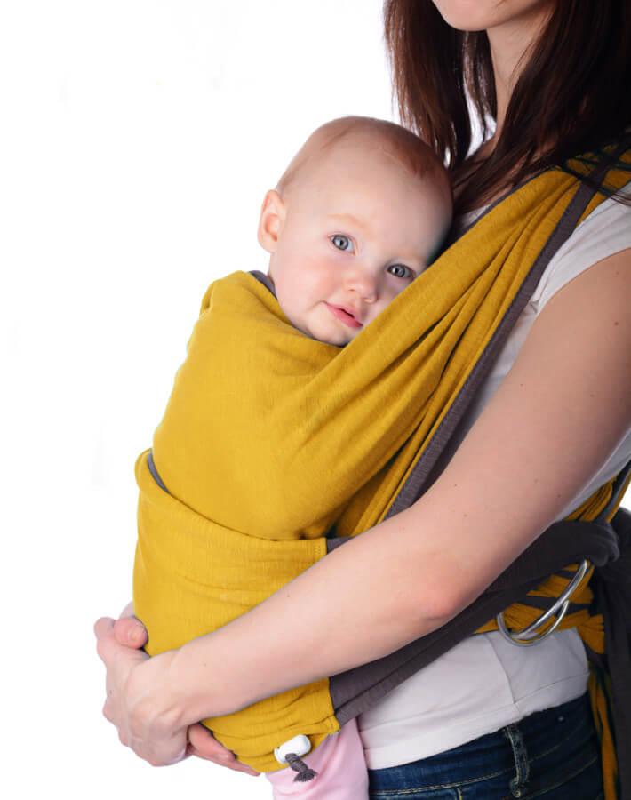 Выбираем слинги. Как носить в них ребенка?