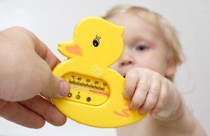 детский термометр для ванны