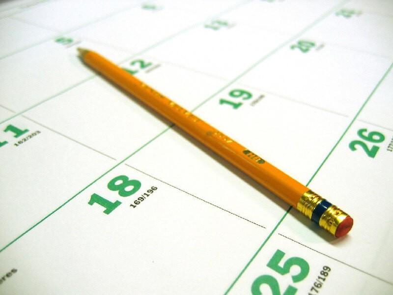 Календарь прикорма