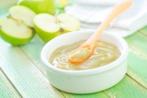 Прикорм яблочное пюре как вводить
