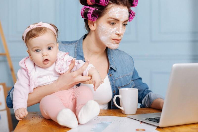Выплаты неработающим мамам