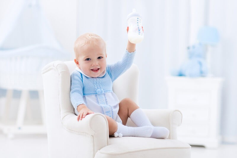 Детское питание – заменители грудного молока