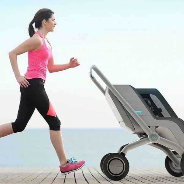 В помощь молодым родителям: коляска с электродвижком
