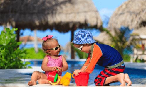 как одевать детей на пляже