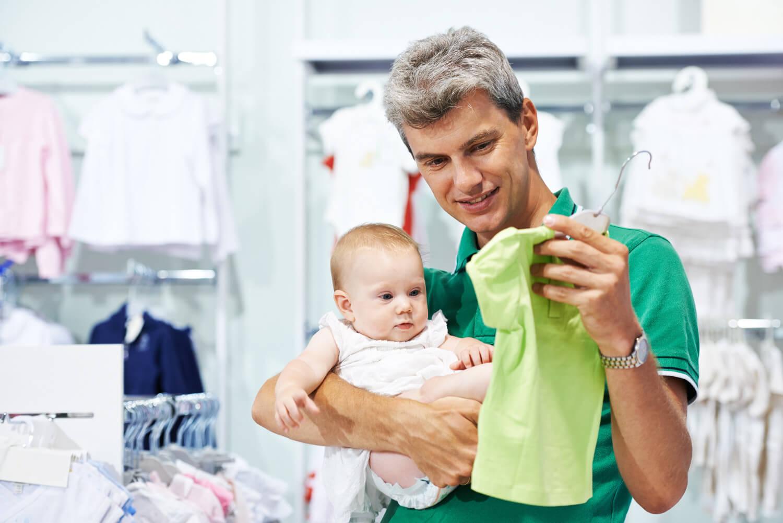 Размеры детской одежды с рождения до года