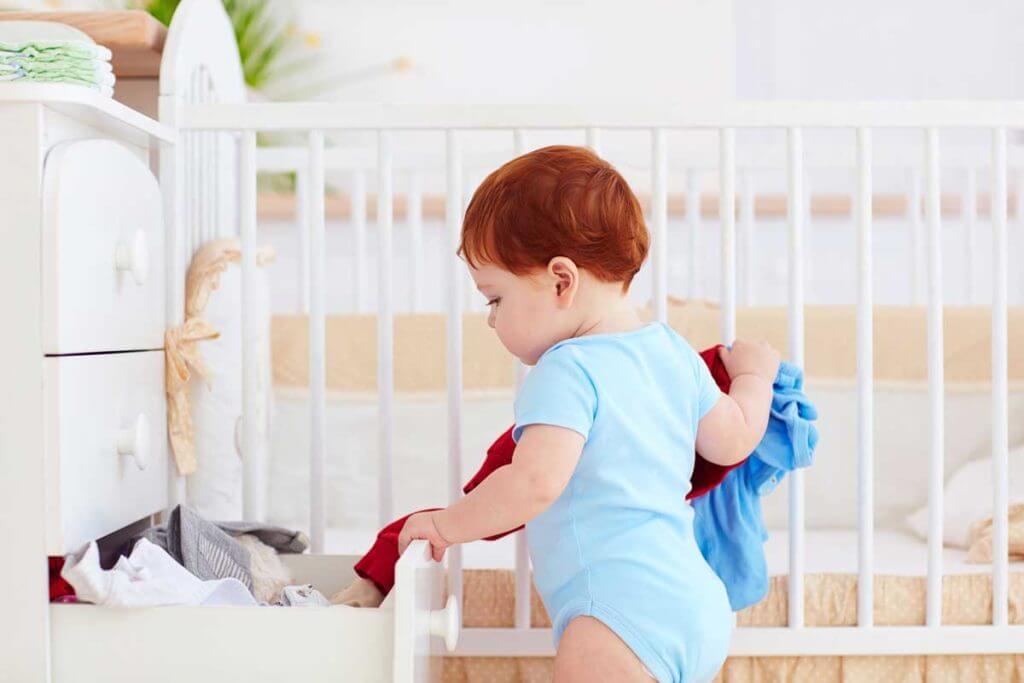 Какой детский комод купить для комнаты новорожденного — стандартный, стеллаж или пеленальный