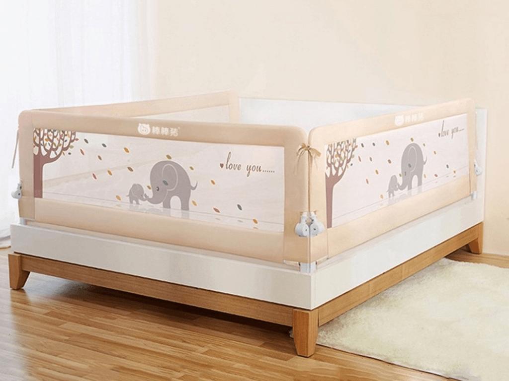 Барьеры безопасности для кроватки