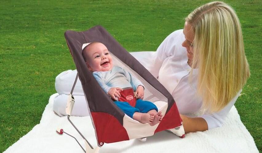 Розыгрыш 31 мая – шезлонг для новорожденного