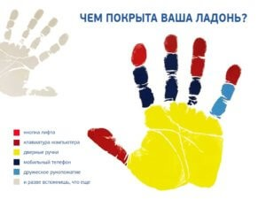 вирусы на руках