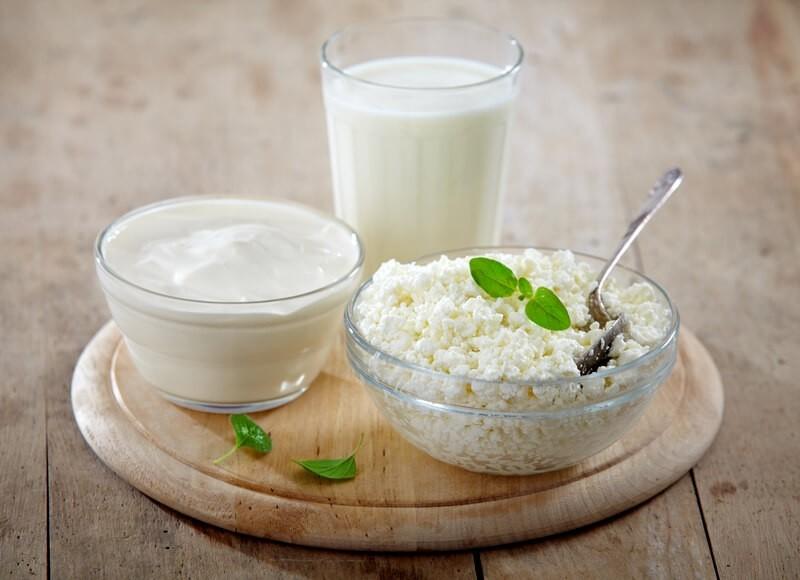 Молочные продукты в детском питании