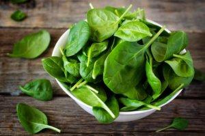 продукты для лактации шпинат