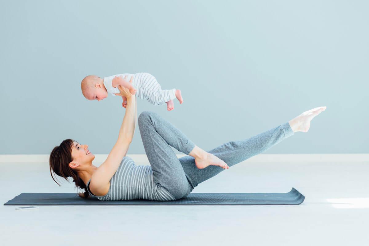 Красивая мама: как быстро восстановить фигуру после родов
