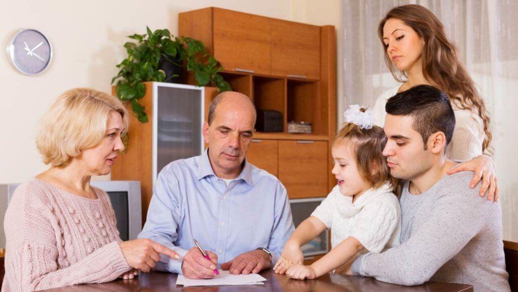 Жизнь с родителями