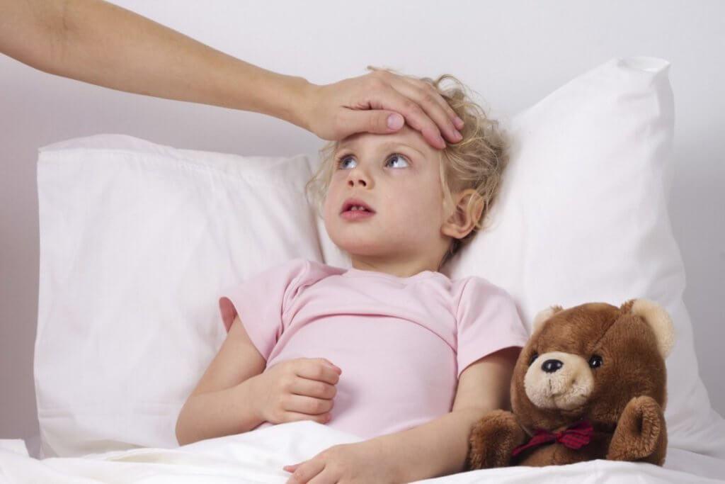 Вирус у ребенка